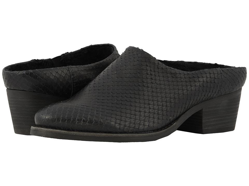 Walking Cradles Greer (Black Cut Snake Print Leather) 1-2 inch heel Shoes