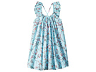 Seafolly Kids Blue Birds Garden Frill Dress Cover-Up (Toddler/Little Kids)