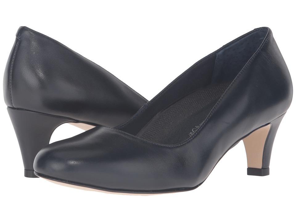 Walking Cradles Joy (Navy Lesther) Women's Shoes