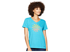Life is Good Here Comes The Sun Crusher Vee T-Shirt