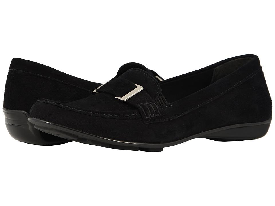 Walking Cradles March (Black Kid Suede) Women's Shoes