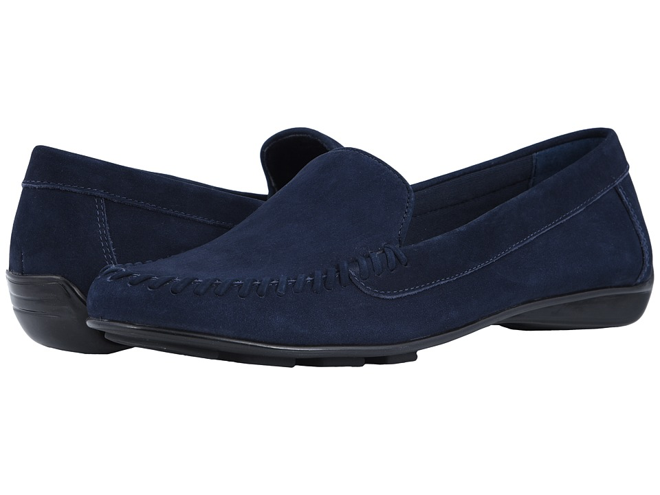Walking Cradles Mercer (Navy Nubuck) Slip-On Shoes