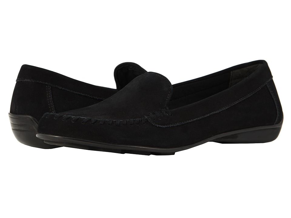 Walking Cradles Mercer (Black Nubuck) Slip-On Shoes