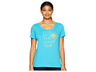 Life is Good Live On the Sunny Side Crusher Scoop Neck T-Shirt