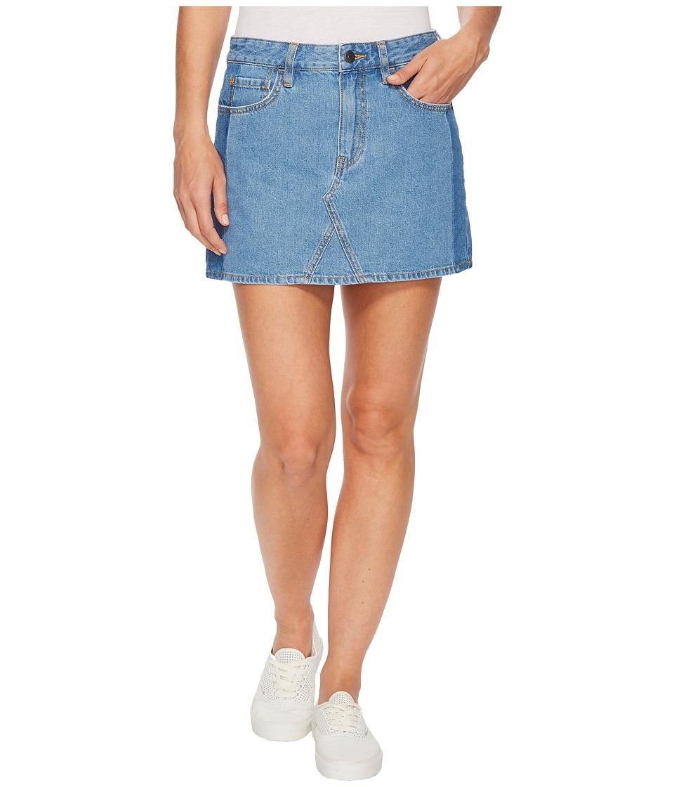 Vans Valley View Skirt (Mixed Blues) Women