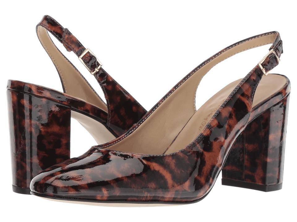 Walking Cradles Michaela (Leapord Patent) Women's Shoes