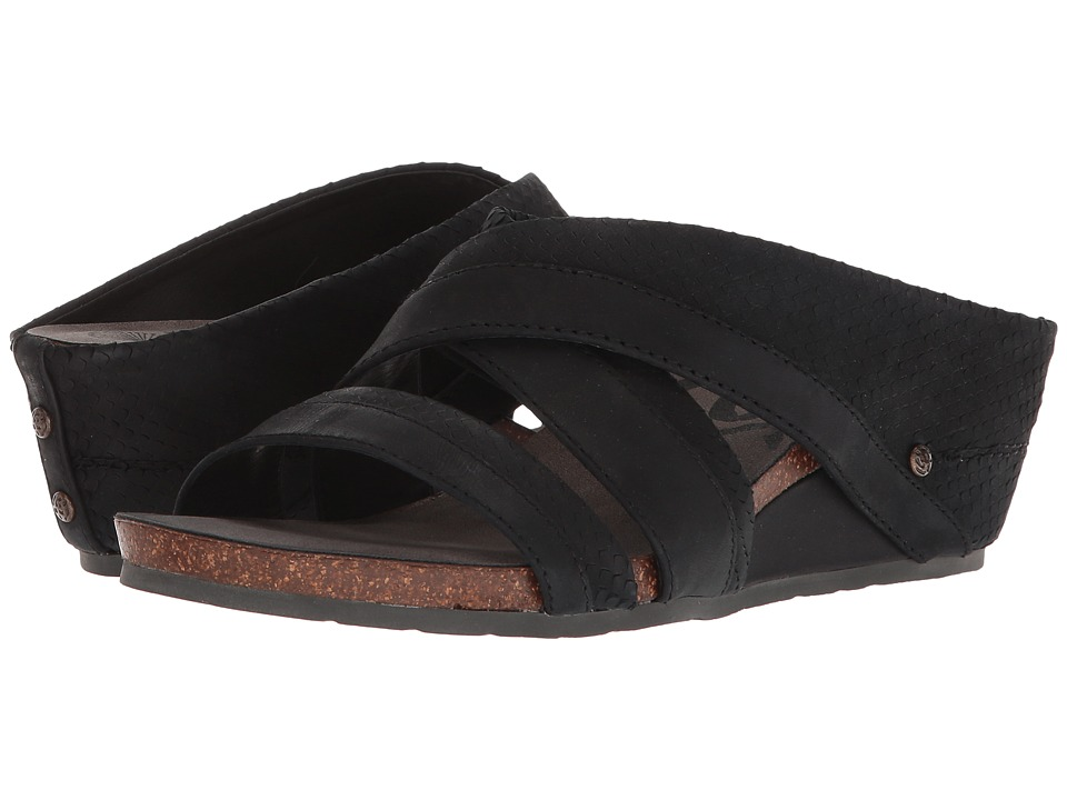 OTBT Departure (Black) Women's Dress Sandals