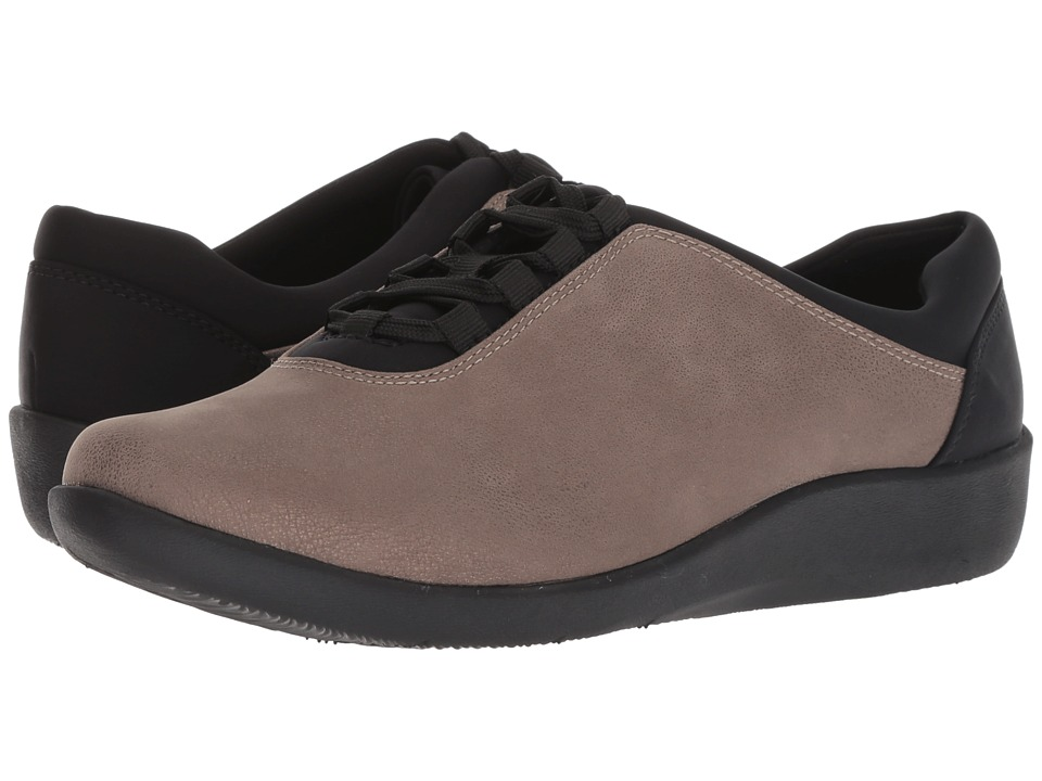 Clarks Sillian Pine (Pewter Metallic Synthetic)