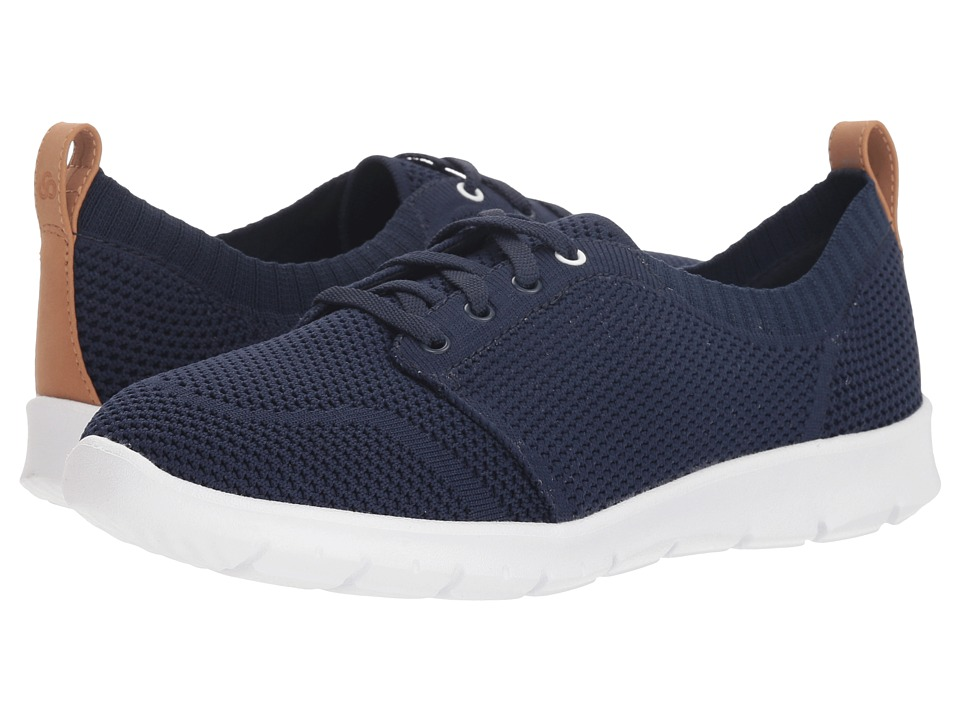 Clarks Step Allena Sun (Navy Textile) Women's Shoes