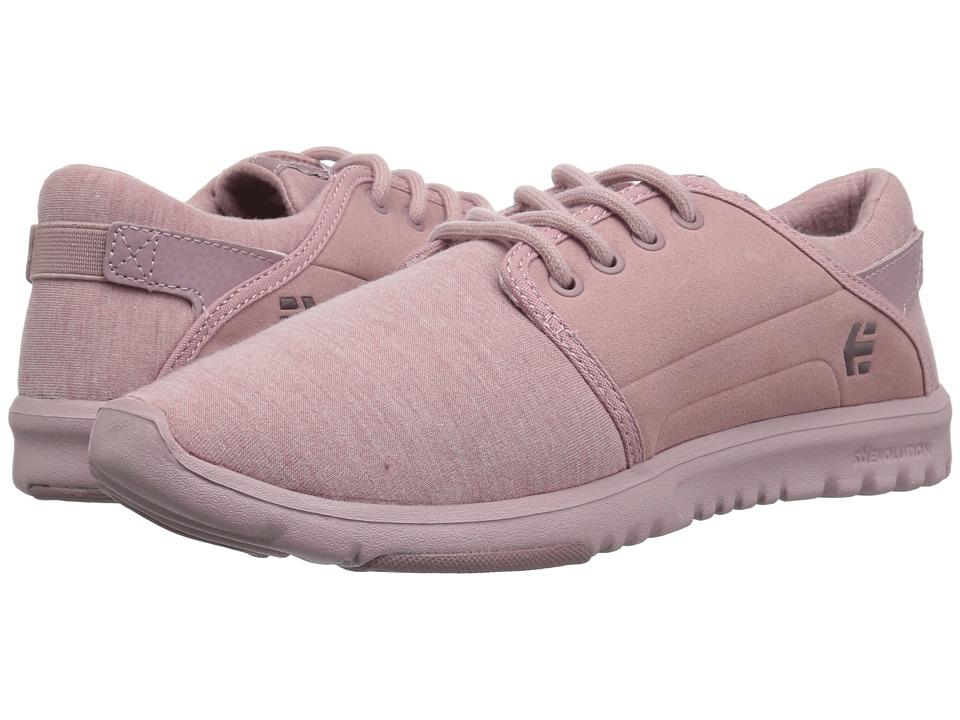 etnies Scout W (Peach) Women's Skate Shoes