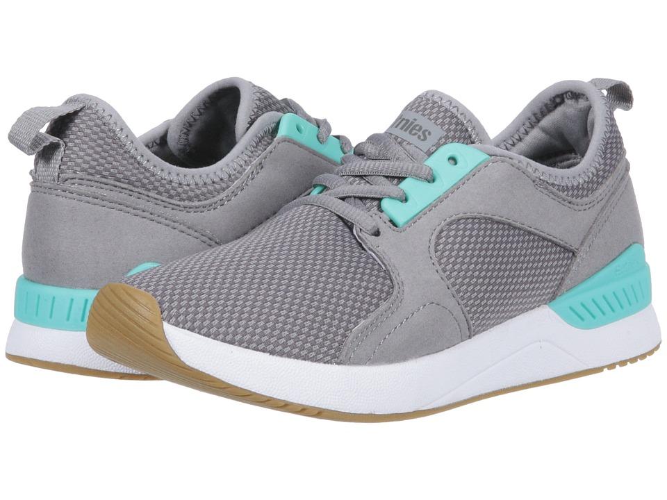 etnies Cyprus SC (Grey/Green) Women's Skate Shoes