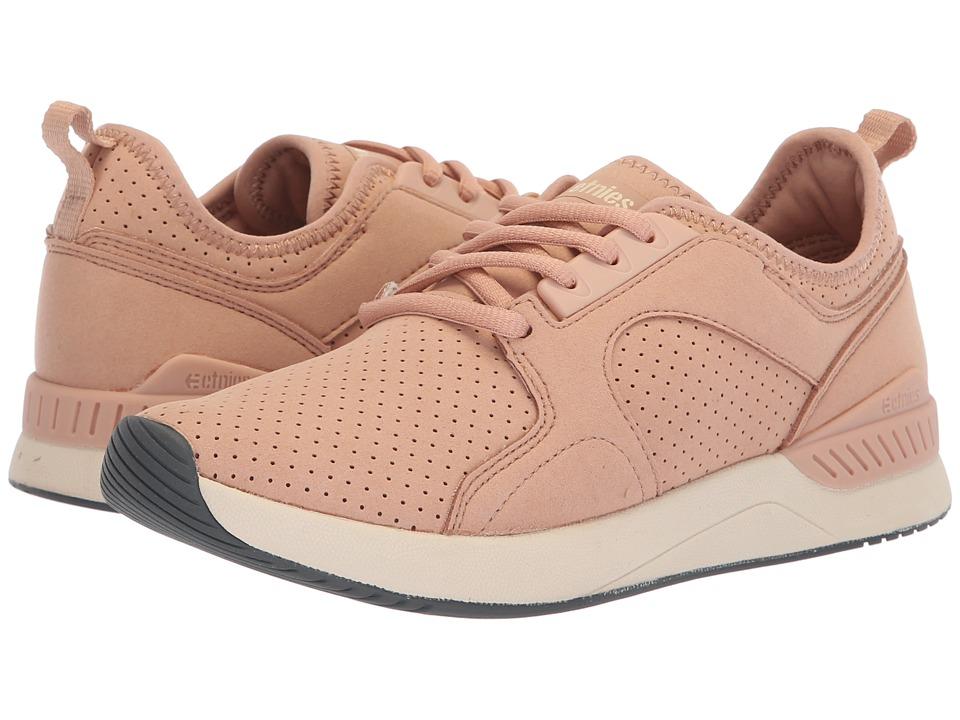 etnies Cyprus SC (Peach) Women's Skate Shoes