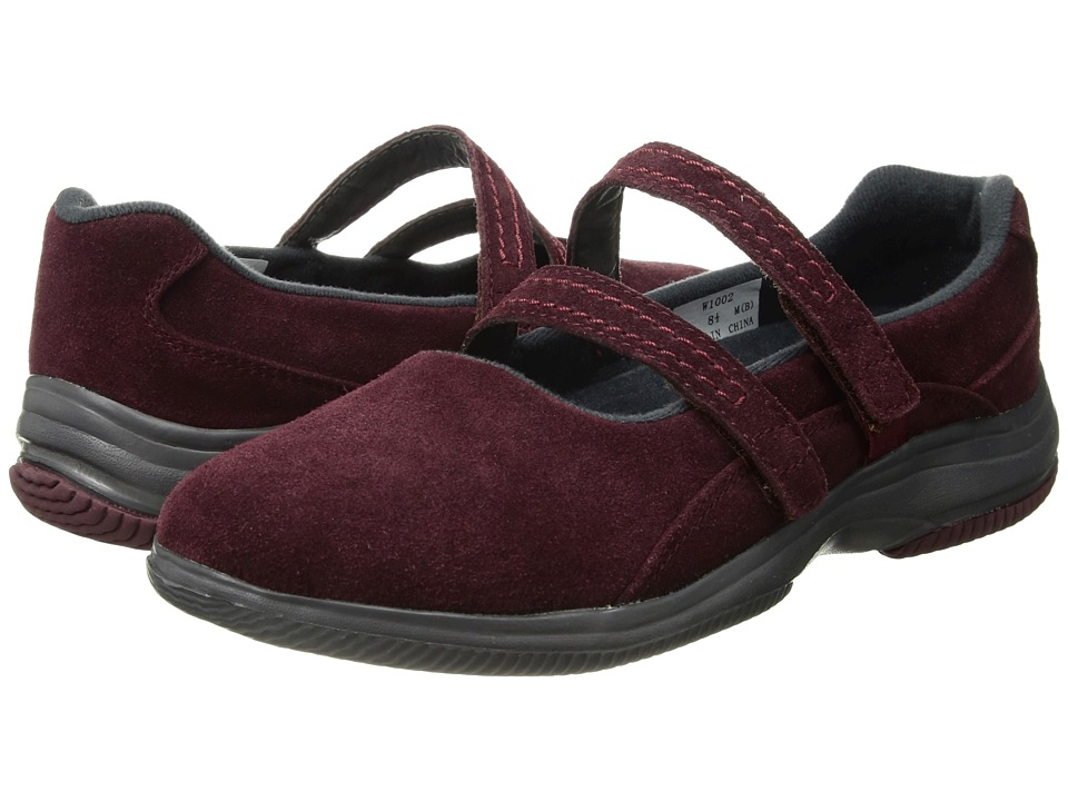 Propet Twilight (Wine Suede) Women's Shoes