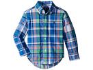Polo Ralph Lauren Kids Cotton Madras Shirt (Toddler)