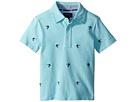 Polo Ralph Lauren Kids Knit Cotton Oxford Shirt (Toddler)