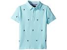 Polo Ralph Lauren Kids Knit Cotton Oxford Shirt (Little Kids/Big Kids)