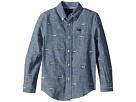 Polo Ralph Lauren Kids Linen-Cotton Chambray Shirt (Little Kids/Big Kids)