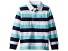 Polo Ralph Lauren Kids Striped Cotton Jersey Rugby (Toddler)