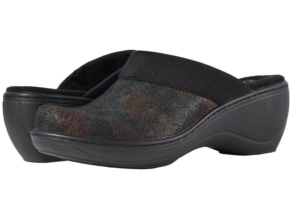 SoftWalk Murietta (Black Multi) Clogs