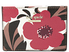 Kate Spade New York Cameron Street Poppy Field Card Holder