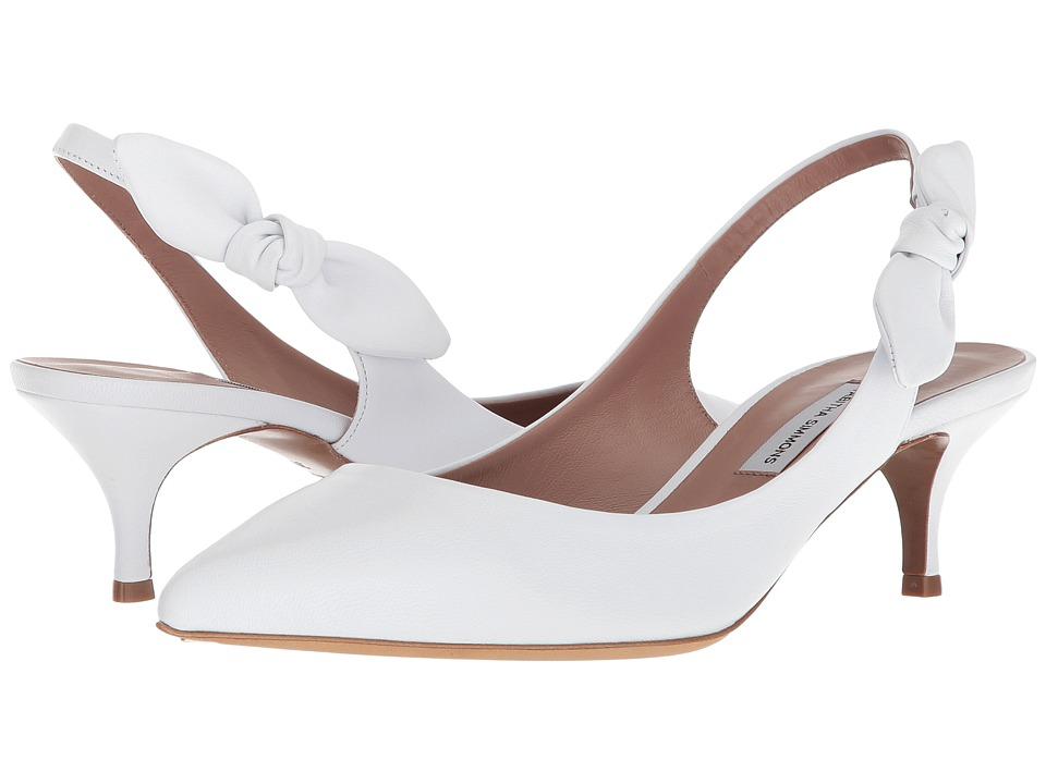 Tabitha Simmons Rise (White Nappa) Women's Shoes