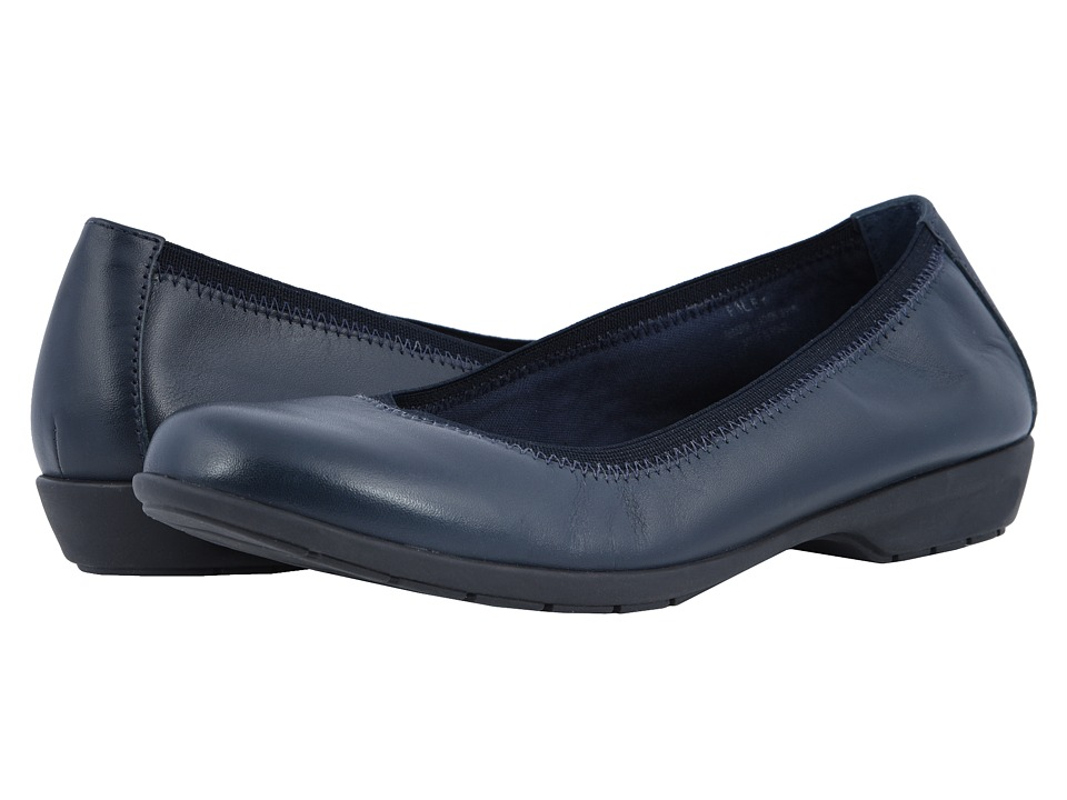 Walking Cradles Foley (Navy Leather) Flats