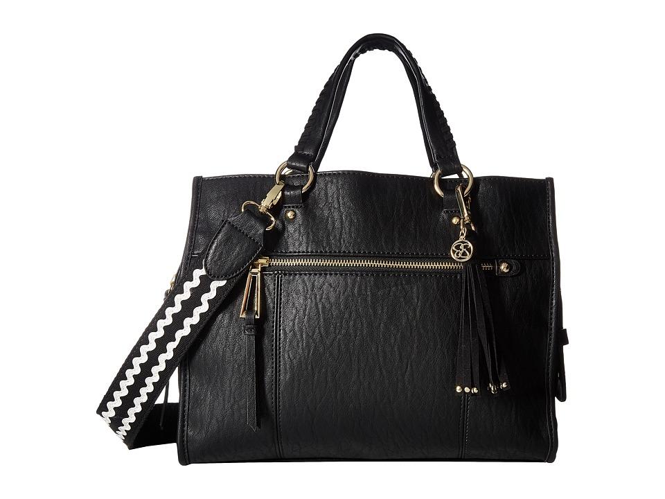 Jessica Simpson - Levona Satchel (Black) Satchel Handbags