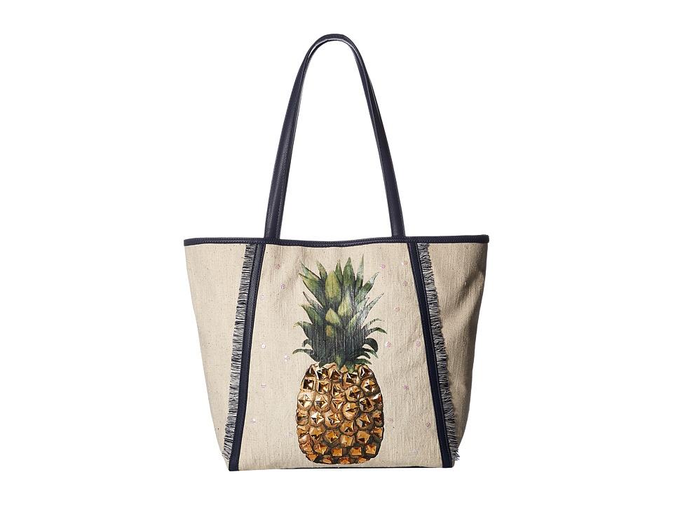 Jessica Simpson - Rio Tote (Embellished) (Pineapple) Tote Handbags
