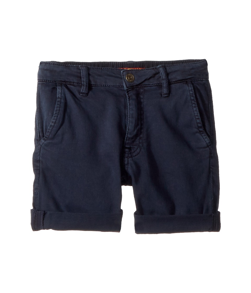7 For All Mankind Kids - Classic Shorts (Little Kids/Big Kids) (Stone) Boys Shorts