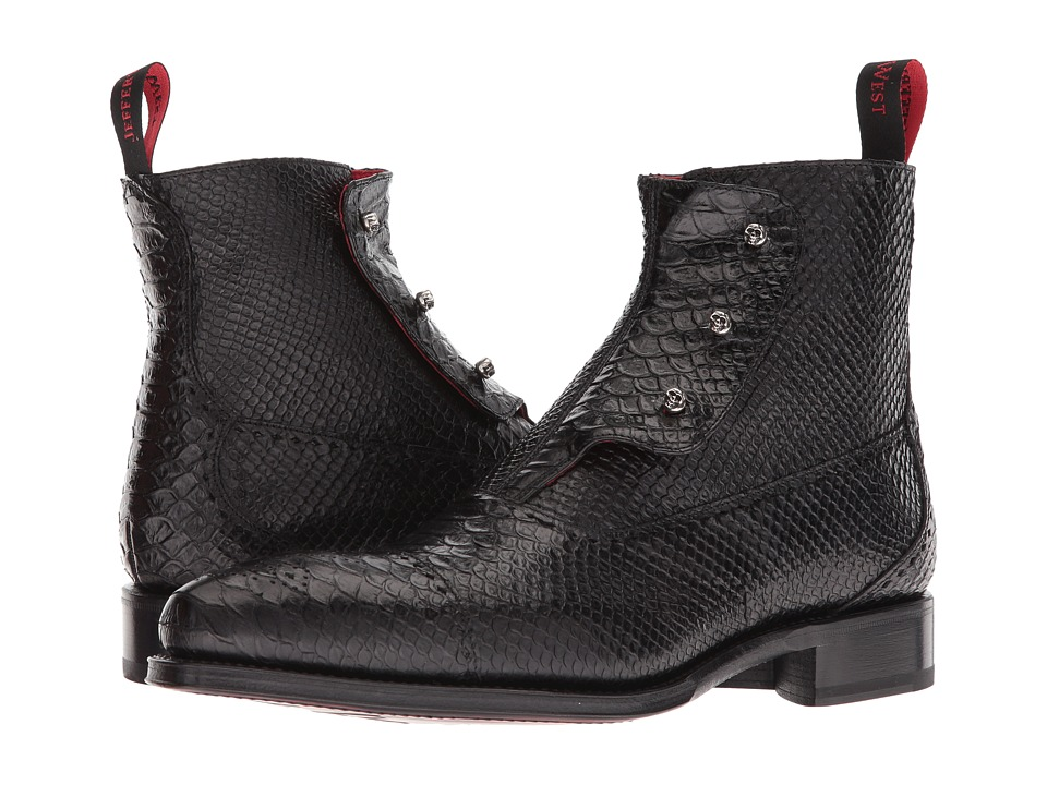 Jeffery-West - Gargoyle (Black Diamante) Mens Shoes