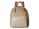 Tommy Hilfiger Julia Double Handle Solid Nylon Backpack