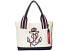 Tommy Hilfiger Classic Tommy Shopper Anchor Canvas Tote