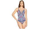 Tommy Bahama Riviera Tile Lace Front One-Piece