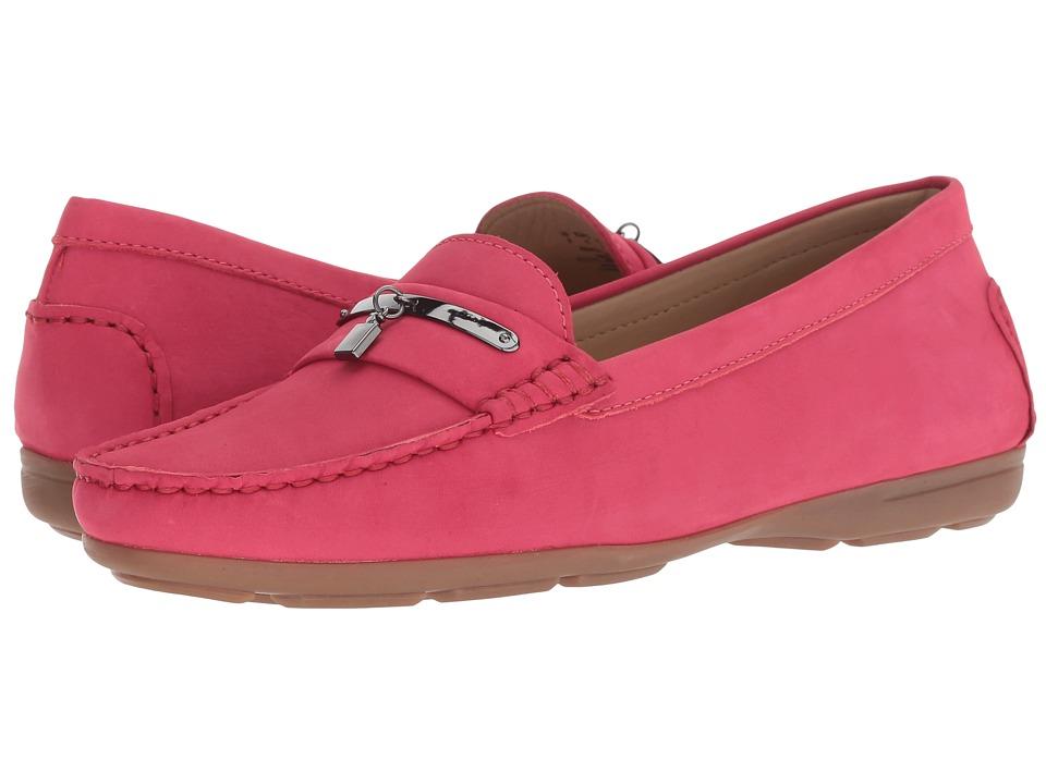 Hush Puppies Renita Charm (Red Nubuck) Slip-On Shoes
