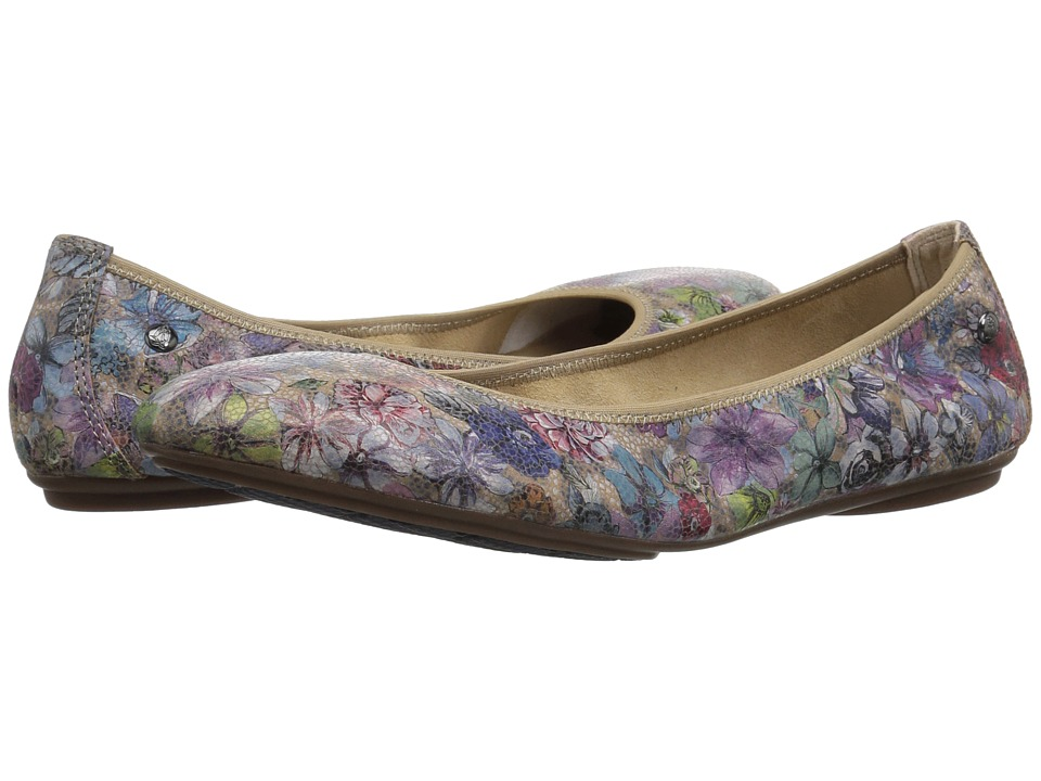Hush Puppies Chaste Ballet (Hygee Floral Suede) Flats