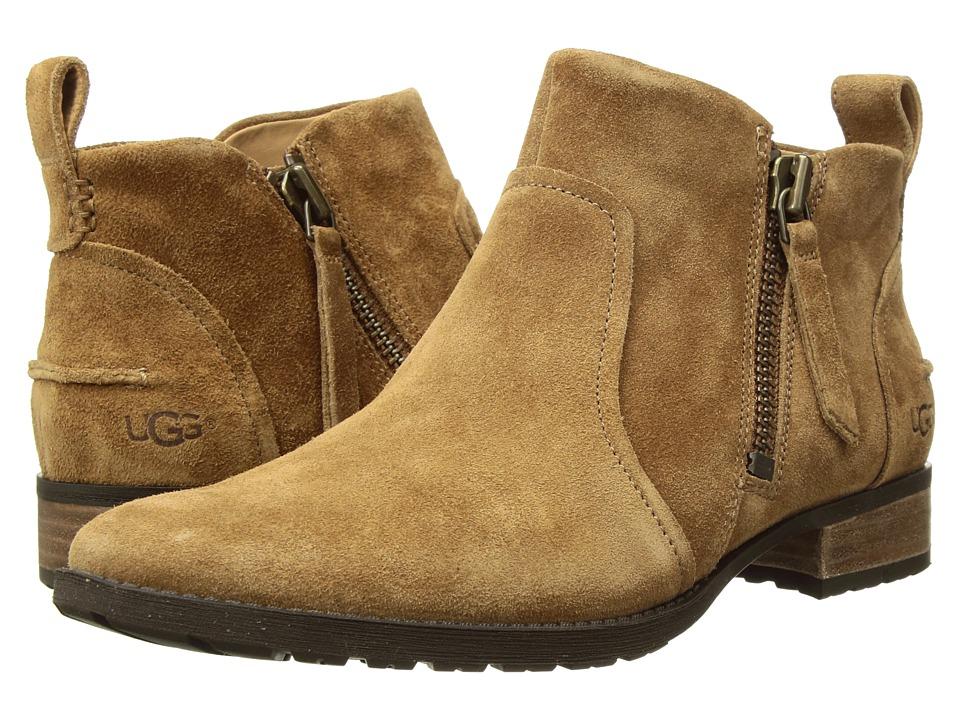 UGG Aureo Boot (Chestnut Suede)