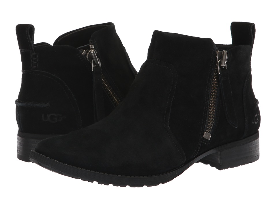 UGG Aureo Boot (Black Suede)