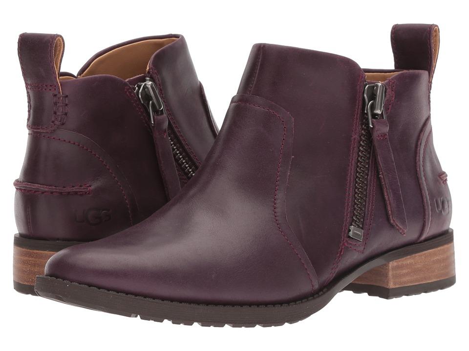 UGG Aureo Boot (Oxblood Leather)