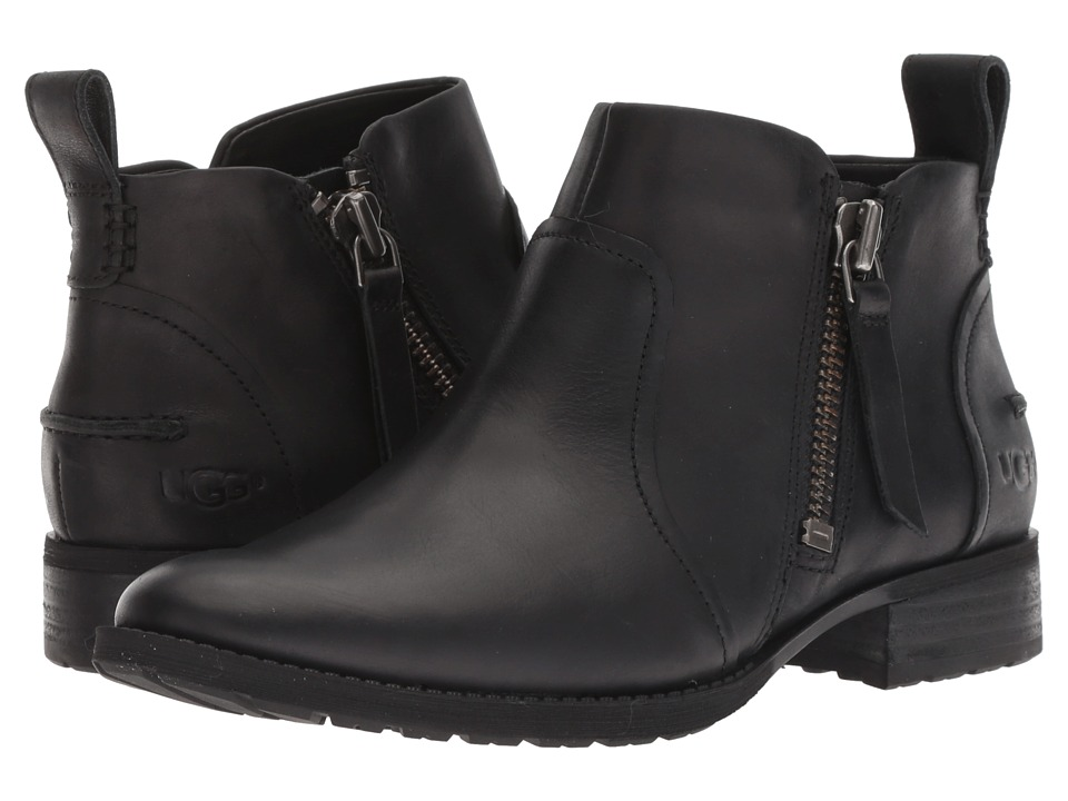UGG Aureo Boot (Black Leather)