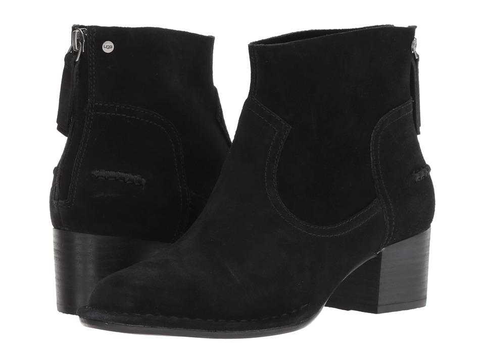 UGG Bandara Ankle Boot (Black Suede)