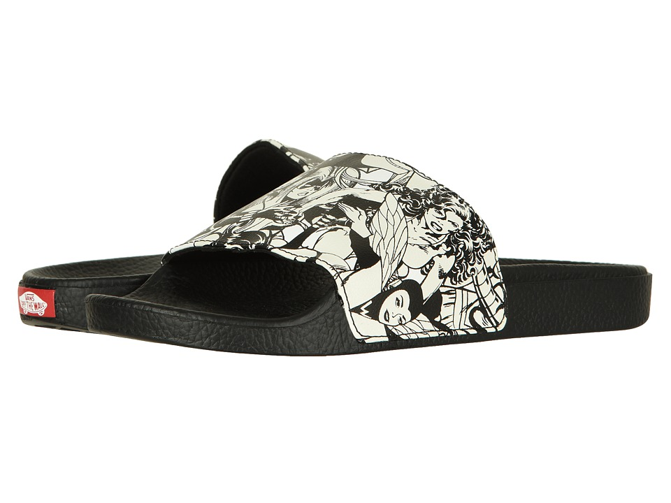 Vans Slide-On ((Marvel) Multi/Black/White) Sandals