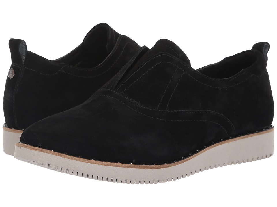 Hush Puppies Chowchow Slip CVO (Black Suede) Slip-On Shoes