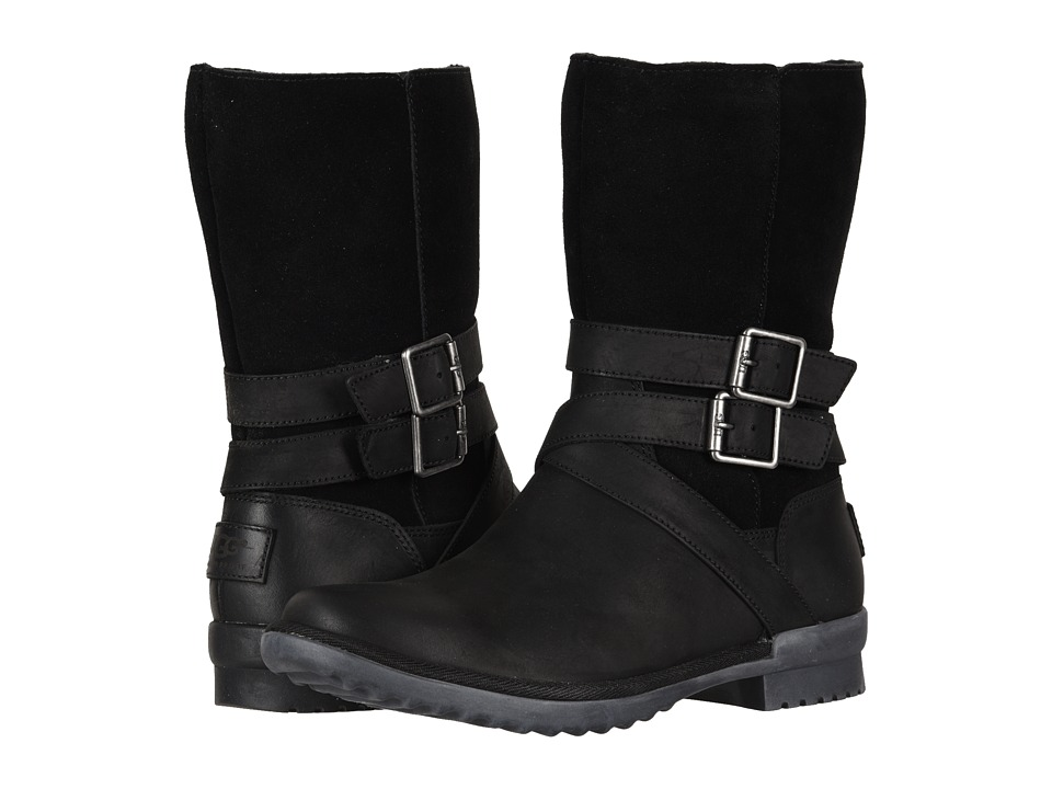 UGG Lorna Boot (Black) Women's Pull-on Boots