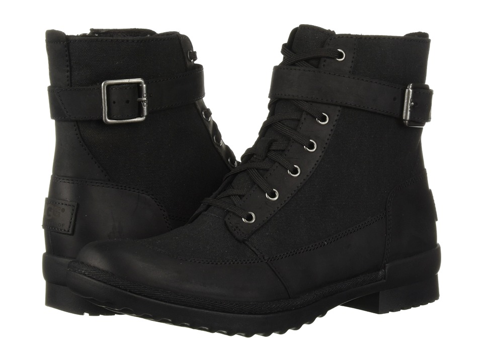 UGG Tulane Boot (Black) Women's Lace-up Boots