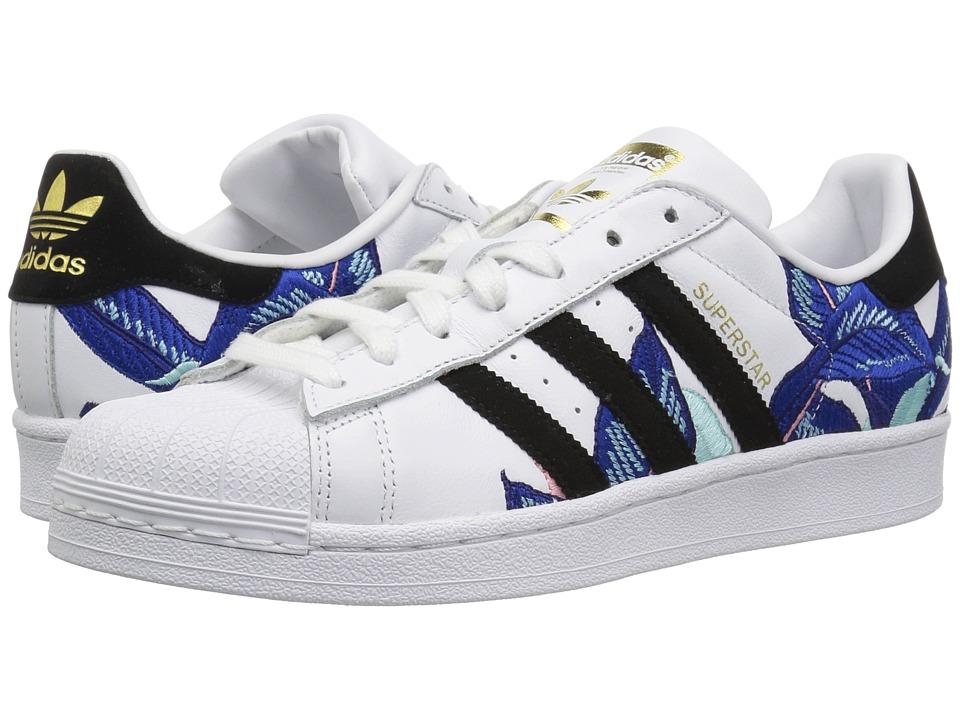 adidas Originals Superstar W (White/Black/Gold Metallic) Women's Classic Shoes