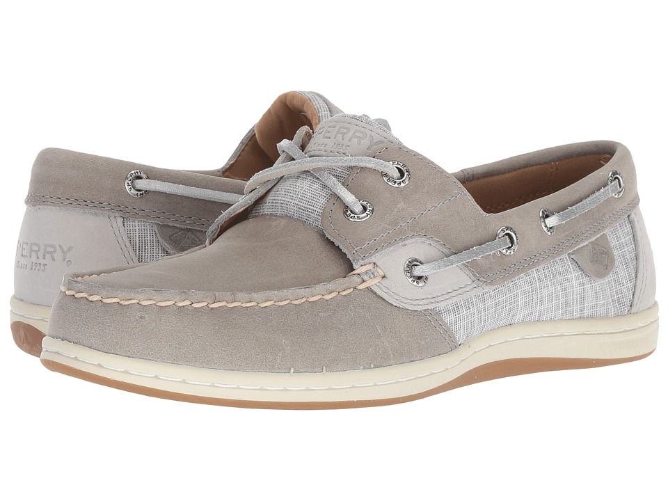 Sperry Koifish Sparkle Crosshatch (Grey)
