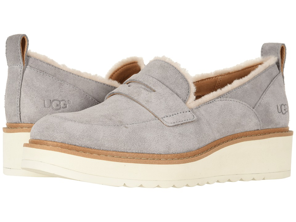 UGG Atwater Spill Seam Loafer (Seal) Slip-On Shoes
