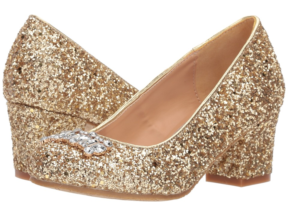 Badgley Mischka Kids - Starlett Adorb (Little Kid/Big Kid) (Gold) High Heels