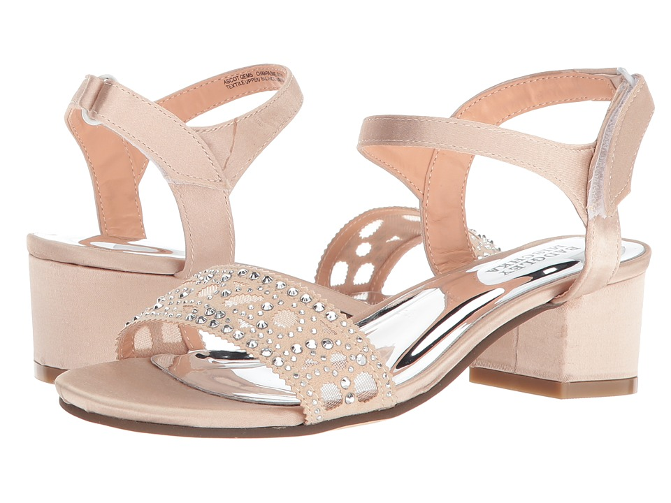 Badgley Mischka Kids - Ascot Gems (Little Kid/Big Kid) (Champagne Gold) Girls Shoes