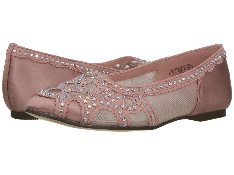 Badgley Mischka Kids Gigi Gems (Little Kid/Big Kid) (Rose Gold Pink) Girls Shoes
